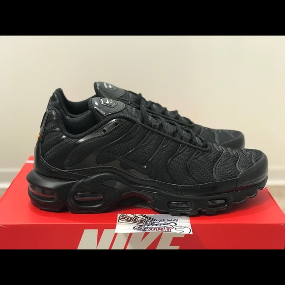 best loved e2c9d 3fd1f Nike Air Max Plus TN Vapormax 97 95 Black 270 720 NWT